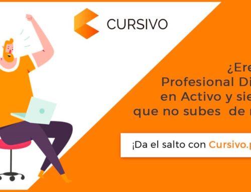 Llega Cursivo, la plataforma de formación online avanzada para profesionales digitales