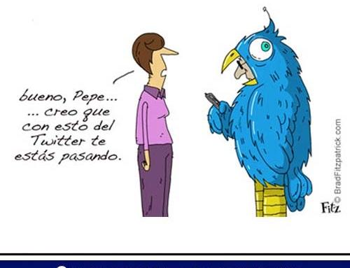 Humor – ¿#twitteraddicted a la vista?