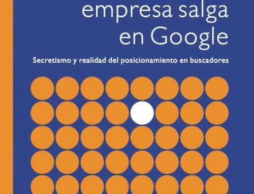 Quiero que mi empresa salga en Google, por Sico de Andrés