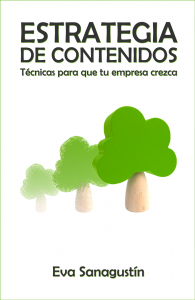 Libro Estrategia de Contenidos de Eva Sanagustín