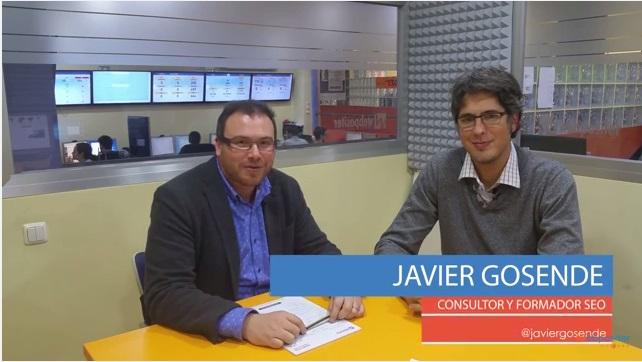 Video entrevista de Webpositer a Javier Gosende