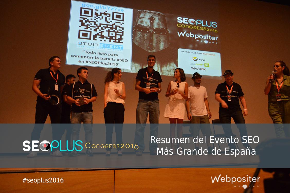 Resumen SEOPLUS 2016