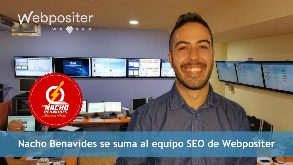 Nacho Benavides, Consultor SEO en Webpositer