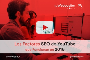 Factores SEO de Youtube en 2016