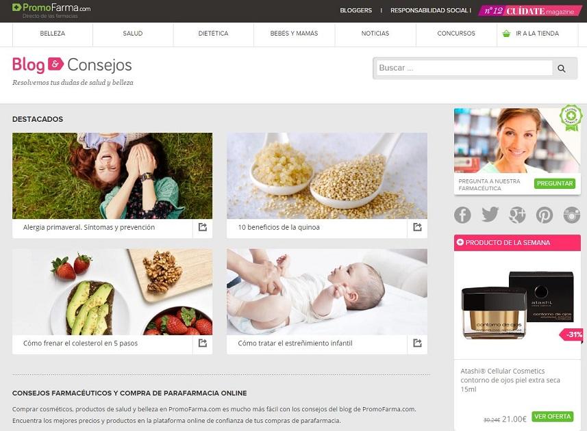 Marketing de Contenidos para tiendas online