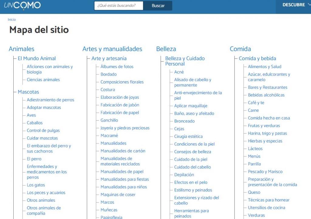 Ejemplo mapa web html