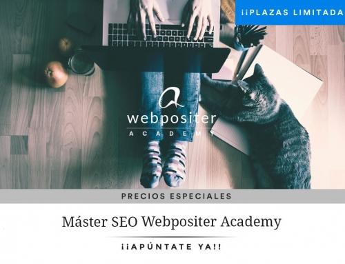 Apúntate al Máster SEO Técnico Online de Webpositer Academy.  [NUEVA EDICIÓN 2021]