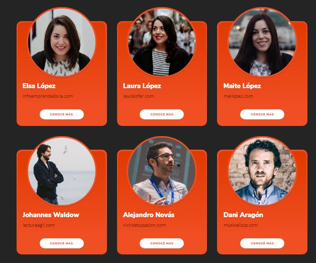 Conferenciantes Hotmart Camp Madrid 2018