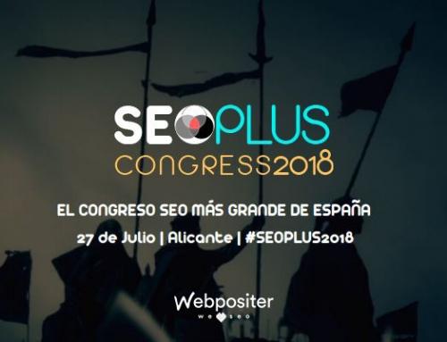 #SEOPLUS2018: Todo listo para el evento SEO del año