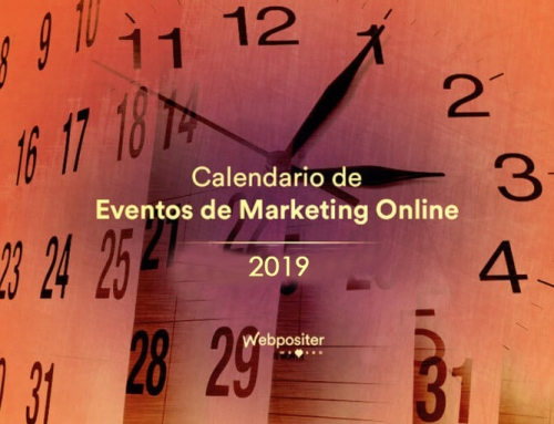 Calendario de eventos de Marketing Online y SEO 2019 con la participación de Webpositer