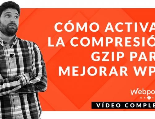 Cómo activar la compresión gZIP para mejorar la velocidad de carga de tu web