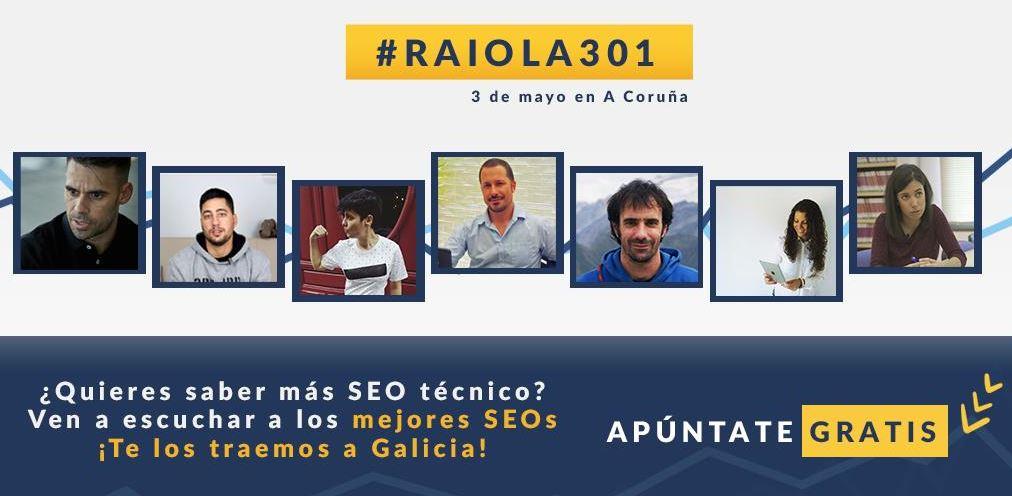 Evento gratuito SEO Galicia Raiola301