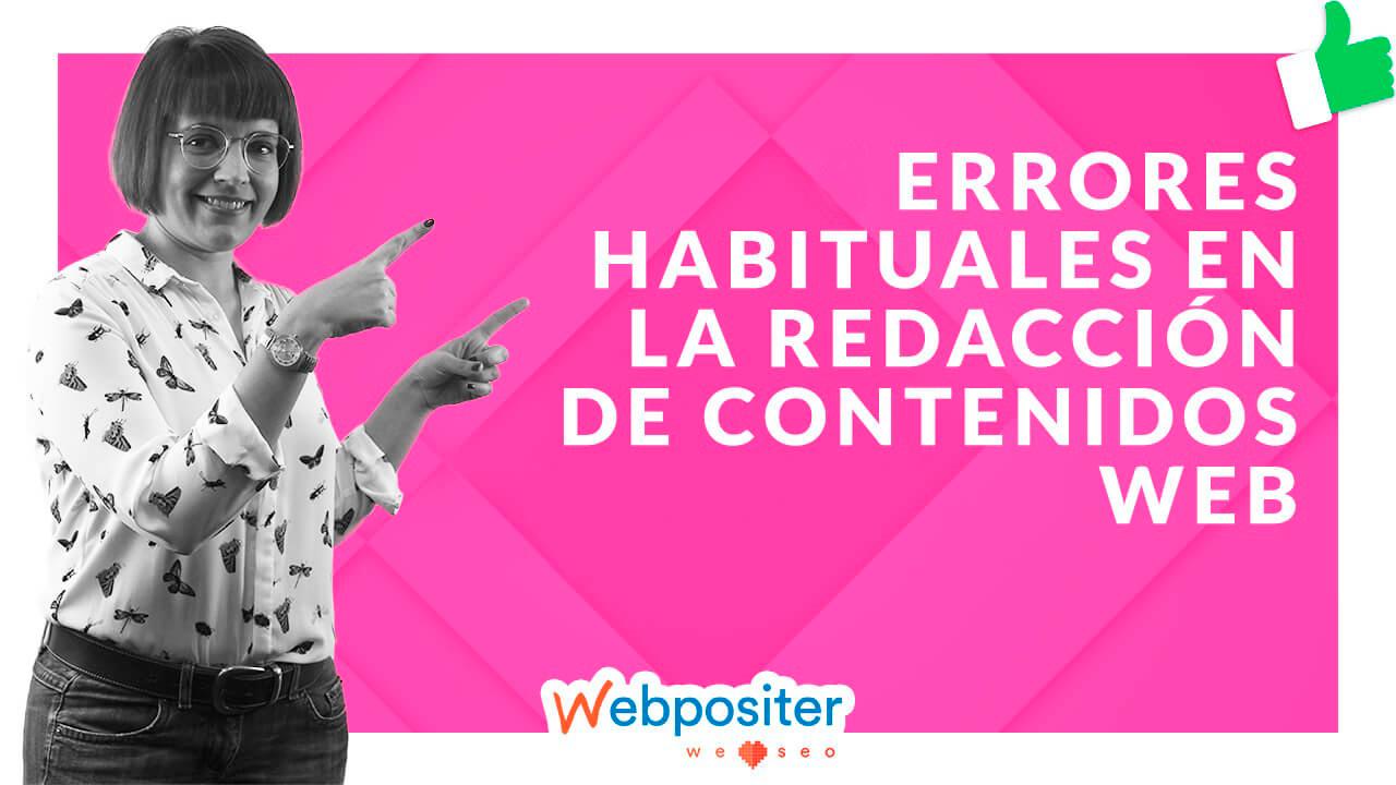 Errores en la redacción de contenidos web
