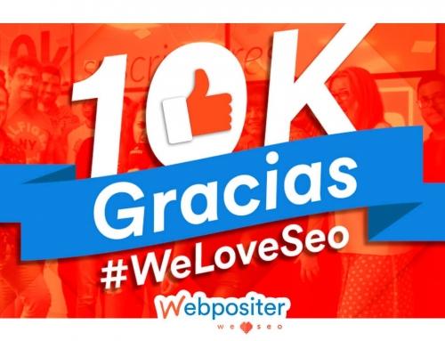 Ya hemos conseguido 10 000 suscriptores en Youtube y ¡todo ha sido gracias a ti!