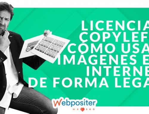 Cómo usar imágenes en Internet de forma legal con licencias Copyleft y Creative Commons