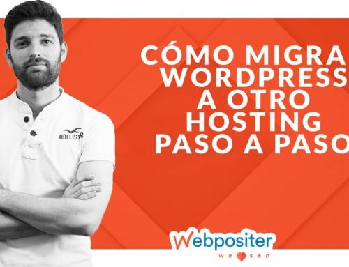 Aprende a migrar WordPress a otro hosting en 4 pasos sencillos y efectivos [TUTORIAL]