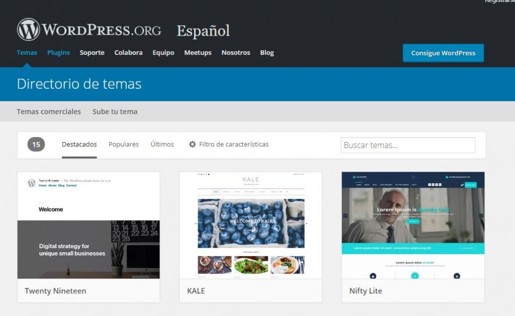 wordpress-temas