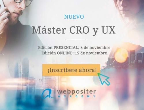 Inscríbete ya en el nuevo Máster CRO de Webpositer Academy