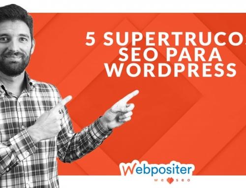 5 trucos SEO para WordPress que mejoran la optimización y los resultados de tu web