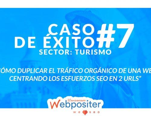 La estrategia que duplicó el tráfico orgánico de una web de turismo centrando los esfuerzos SEO en 2 URLs – Caso de Éxito #7