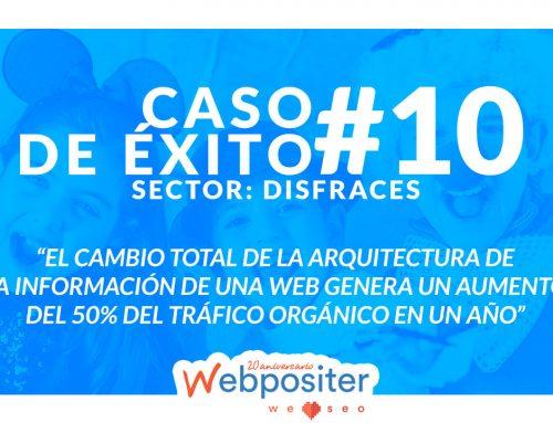 El cambio total de arquitectura web que supuso un aumento de más del 50% del tráfico orgánico – Caso de éxito #10
