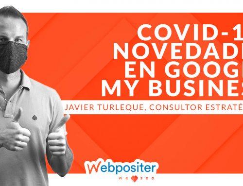 Novedades de Google My Business para empresas afectadas por el COVID-19