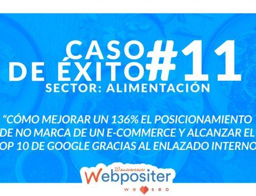Cómo mejorar un 136% el posicionamiento de no marca de un e-commerce hasta situarlo en el top 10 de Google gracias a un enlazado interno con cabeza – Caso de éxito #11
