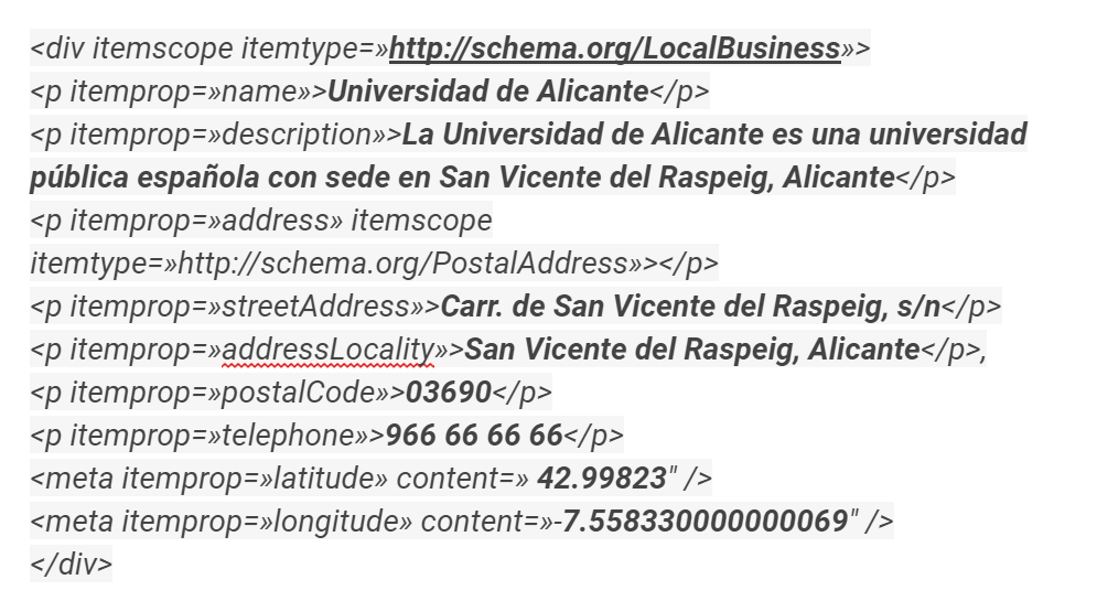 Código HTML NAP (1)