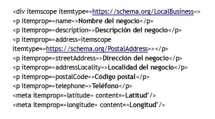codigo-html-nap-seo-local
