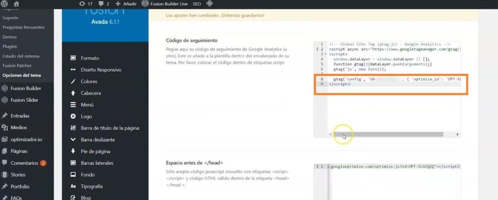 scripts optimize wordpress