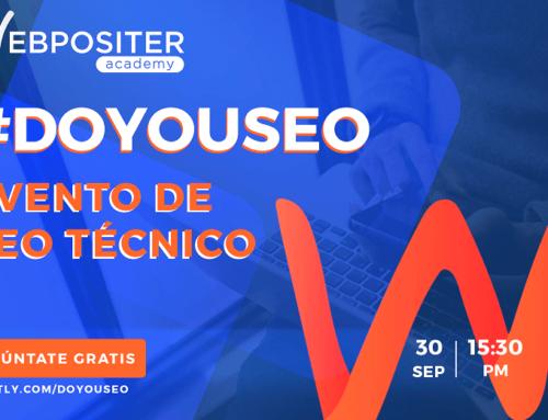 Inscríbete gratis en el evento #DOYOUSEO 2021, la cita online con el SEO técnico en estado puro