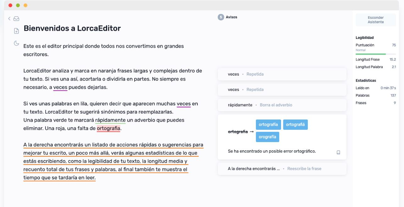 lorca-editor
